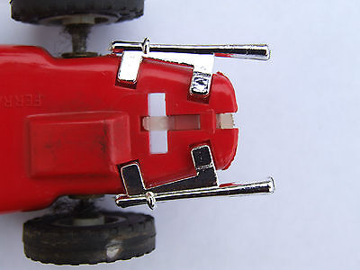 Really Useful Spares Repro Scalextric RUE2 EXHAUST C62/C90 FERRARI 156 CHROME