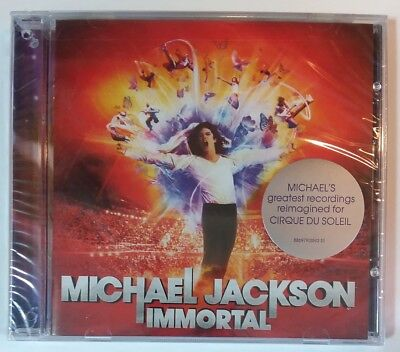 "IMMORTAL by MICHAEL JACKSON (CD, 2011 - USA - Epic) BRAND NEW, ""SEALED"""