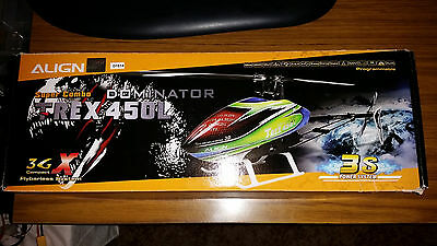 T-REX 450L Dominator Super Combo 3S RC Helicopter Kit with GPro Gyro