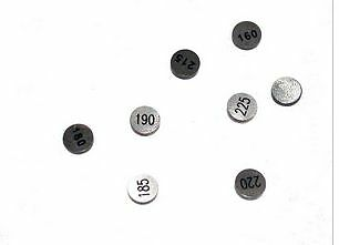 1X Pastille Hotcams 7.48Mm - 2.50 Mm - Streetmotorbike