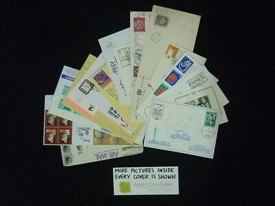 HS-A396 UNITED NATIONS - Us Lot, Postal History, Collection Of 15+ Covers