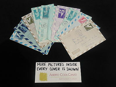 HS-A461 ISRAEL - Lot, Great Collection Of 10 Covers