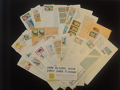 HS-A554 TUNISIA IND - Lot, Great Collection Of 20+ Covers