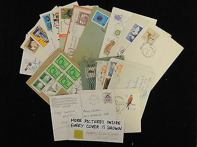 HS-A573 POLAND - Lot, Postcards, Great Collection Of 19 Covers