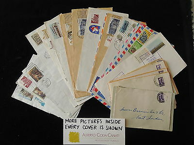 HS-A598 SOUTH AFRICA IND - Lot, Great Beautiful Collection Of 25 Covers