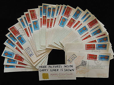 HS-A710 IRELAND - Europa Cept, Fdc, 1968, All Different Lot Of 31 Covers