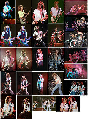 72 Status Quo colour concert photos Reading 1978, Manchester and London 1979