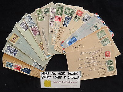 HS-A783 POLAND - Old, Great Beautiful Collection Of 14 Covers