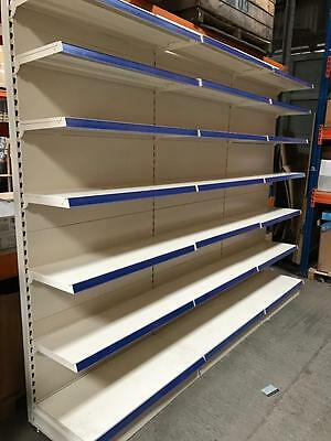 LARGE Complete Shop Display Shelving Racking 3m x 2m EXCELLENT CONDITION