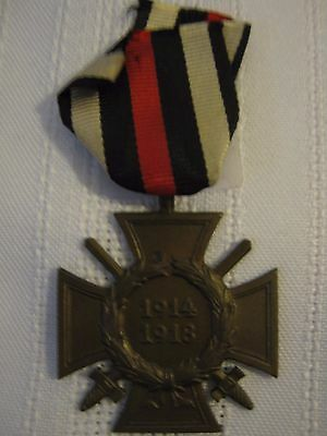 German WWI Hindenburg Cross 1914-1918 G4