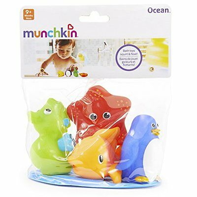 Munchkin 4 Squirting Sea Squirts - Great bath toy