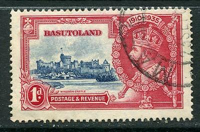 Basutoland:1935 Silver Jubilee 1d stamp SG11  Used CC237