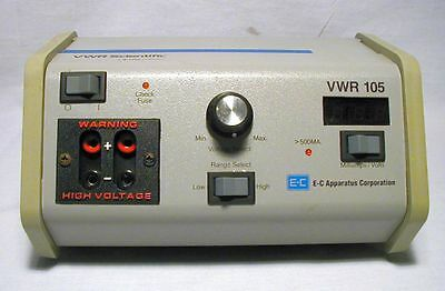 VWR Model 105 Electrophoresis Power Supply by Thermo EC