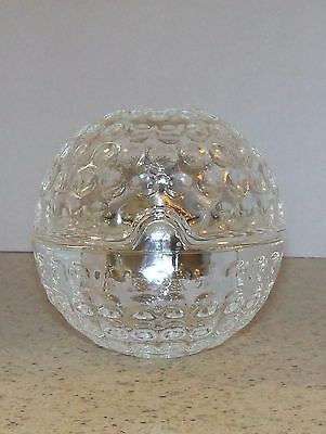 Crystal Golfball-Lighter Inside -Desk Paper Weight-Coffee Table Lighter (S)