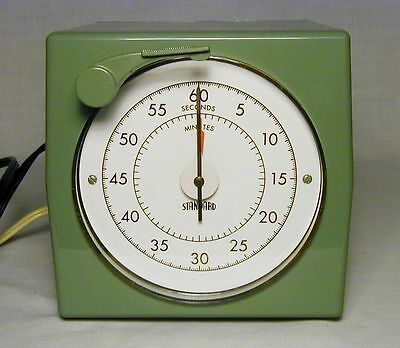 Vintage Standard Electric Time Corp. Model S-60 Precision Timer, NOS. Brand new