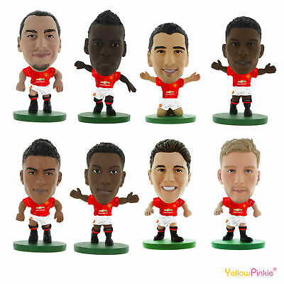 OFFICIAL FOOTBALL CLUB - MANCHESTER UNITED SoccerStarz Figures (2017)