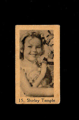 """Bargain Day ~~ Anonymous ( Film Legend Star ) Type Card """" # 15 Shirley Temple """""""