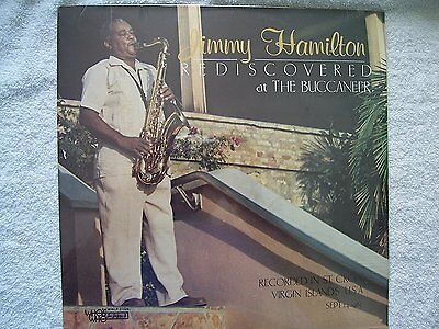 Jimmi Hamilton Rediscovered At The Buccaneer Lp