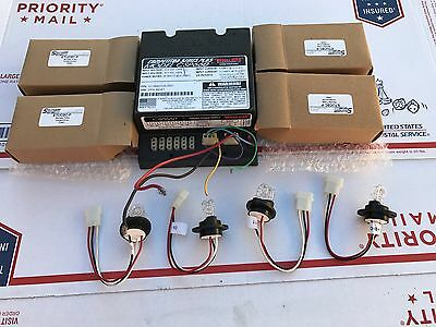 Sound Off Signal Undercover Whelen CSP660 Plus Hideaway Strobe Kit Clear Police