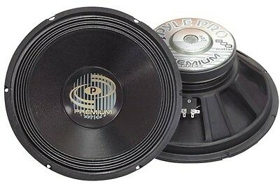 "15"" 800W High Power Professional Quality Replacement Speaker Driver 250W RMS"