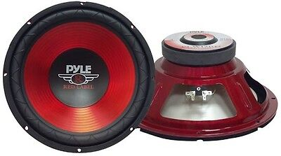 """12"""" 800W High Power Professional Quality SUBWOOFER BASS Driver 4 OHMS- RED LABEL"""