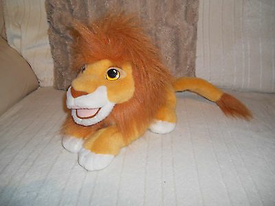 Disney Rare Authentic 1993 Disney The Lion King Roaring Simba Soft Toy Excellent