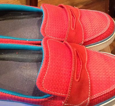 Women's Nike Loafer Style Coral, Blue, Etc Shoes, Size 9