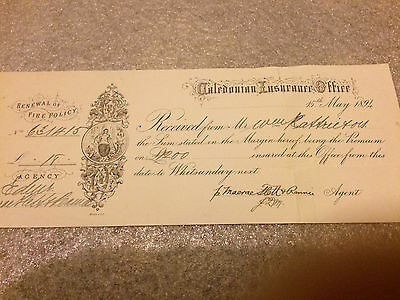 old 1800s documents