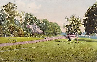 Old Postcard of Spinney Hill Park, Leicester