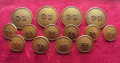 Collection / Job Lot Of Early  Hunting / Livery Buttons Made By Firmin & Sons