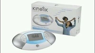 Kinetik Body Composition Monitor Calculate BMI Body Mass Index & Body Fat Ratio