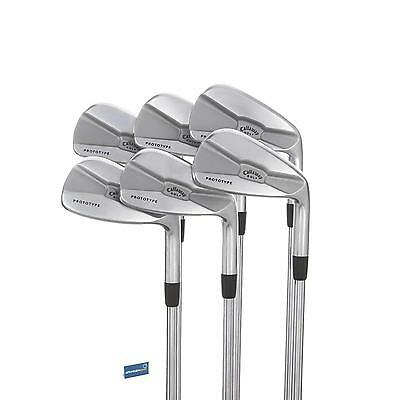 Callaway Prototype MB Steel Irons 5-PW /  Firm Shaft Project X 5.5