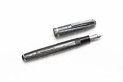 Vintage Esterbrook Grey Marbled SJ Fountain Pen Restored with a New 1554
