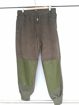CANADIAN ARMY FLEECE PANTS - 7338 Men's Large Long - IECS Combat Sweatpants NEW
