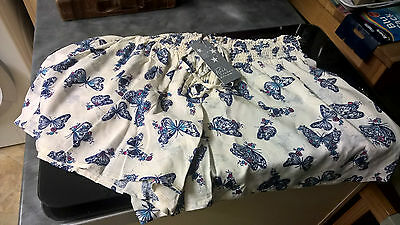 Gorgeous Marks & Spencers Butterfly Ladies Pyjamas Bottoms/shorts,size 10 ,bnwt!