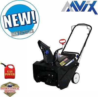 AAVIX AGT1420 20 in Gas Powered Single Stage Snow Thrower