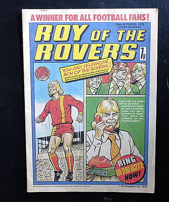 Roy Of The Rovers 1976 30th Oct