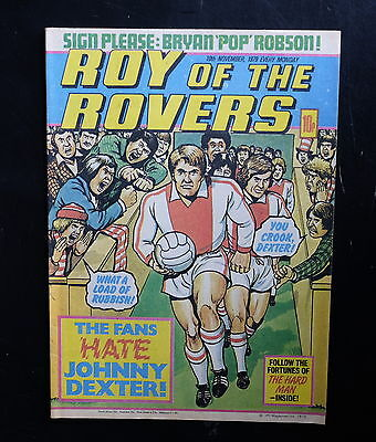Roy Of The Rovers 1979 10th Nov