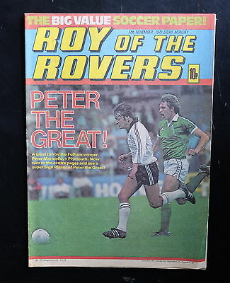Roy Of The Rovers 1979 17th Nov