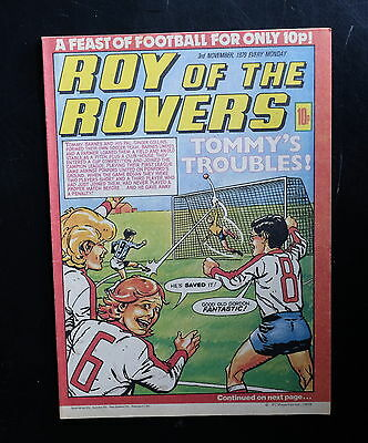 Roy Of The Rovers 1979 3rd Nov