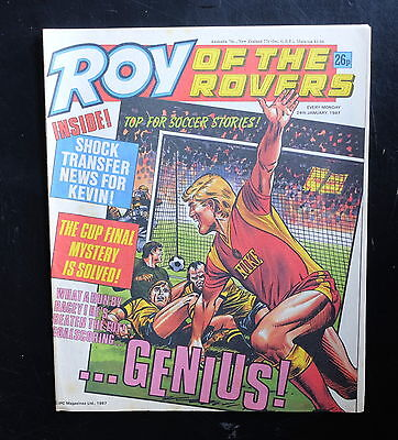 Roy Of The Rovers 1987 24th Jan
