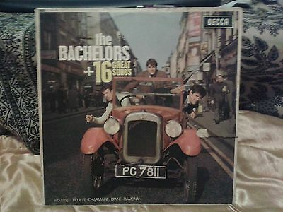 the Bachelors +16 GREAT SONGS MONO LP