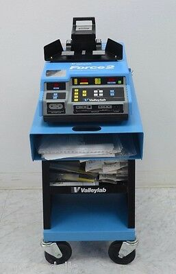 ValleyLab Force 2 ElectroSurgical w/ Both Footswitches & 18 Handpieces (12833)