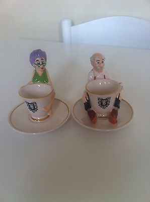 Pair Of Ringtons Rosie Lee & Earl Grey Tea Cup Egg Cups