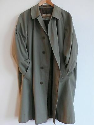 Vintage Aquascutum Trench Coat Mens X Large