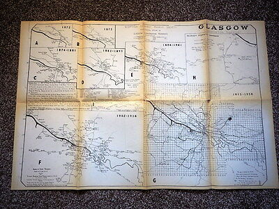 Historical Atlas Of Glasgow Corporation Tramways  - Scottish Tramway Museum Soc