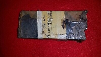 """Vintage 5/8"""" Square x 4-1/2"""" Long High Speed Tool Bits"""