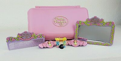 Polly Pocket Pretty Hair PlaySet Complete  excellent condition 1990