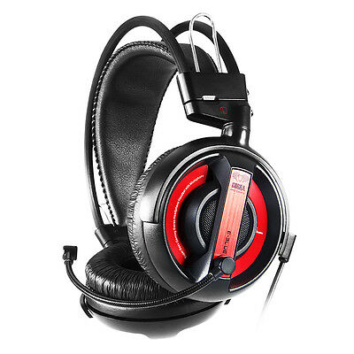 E-Blue Professional Red Gaming Headset