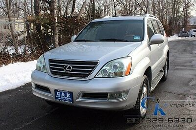 2007 Lexus GX DVD,Leather, Moon Roof, Navigation,Back up Camera LOW RESERVE,GREAT LOOKS INSIDE &OUT
